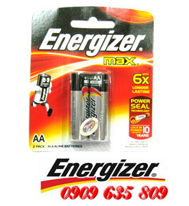E91-BP2, Pin AA Energizer Max E91BP2 AAlkaline 1.5v Made in Singapore