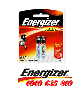 E92-BP2, Pin AAA Energizer Max E92-BP2 Alkaline 1.5v Made in Singapore