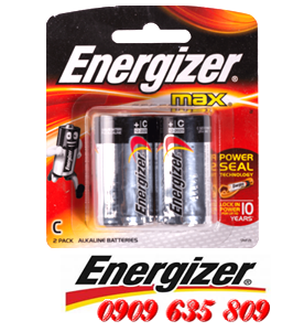 E93-BP2, Pin trung C Energizer Max E93-BP2 alkaline 1.5v Made in Singaore