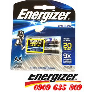Energizer L91BP2, Pin AA 1.5v Energizer L91BP2 Ultimate Lithium Made in Singapore