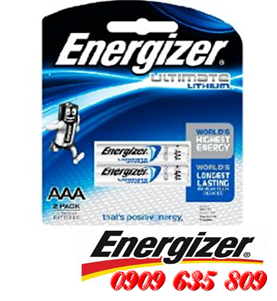 Energizer L92BP2, Pin AAA 1.5v Energizer L92BP2 Ultimate Lithium Made in Singapore