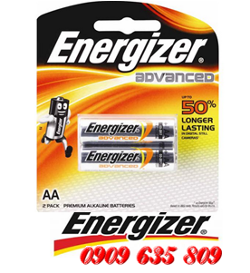 Energizer X91 BP2, Pin AA 1.5v Enenergizer advance X91BP2 Made in Singapore