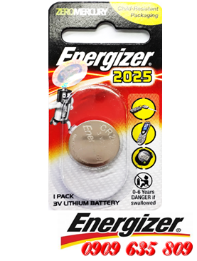Energizer CR2025, Pin Energizer CR2025 lithium 3v chính hãng Made in China