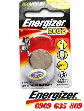 Energizer CR2032 - Pin Energizer CR2032 lithium 3v chính hãng Made in China