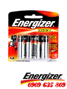 Energizer E91BP4, Pin AA 1.5v Energizer E91BP4 alkaline Made in Singapore| HẾT HÀNG