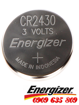 Energizer CR2430, Pin 3v lithium Energizer CR2430 Made in Indonesia