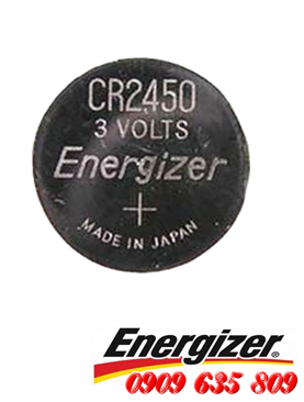 Energizer CR2450, Pin 3v lithium Energizer CR2450 Made in INdonesia