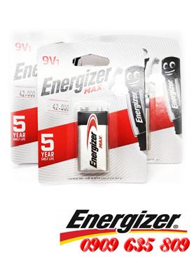 Energizer 522-BP1, Pin 9v vuông Energizer Max 522-BP1 Alkaline Made in Singapore